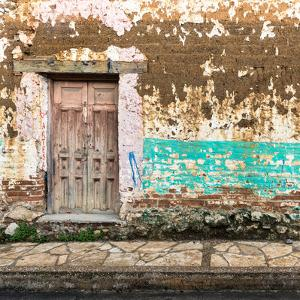 ¡Viva Mexico! Square Collection - Old House Wall II by Philippe Hugonnard