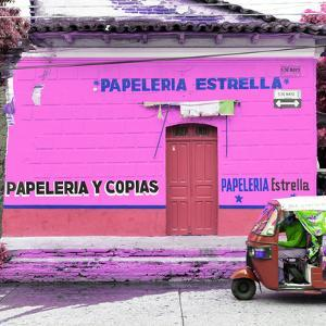 ¡Viva Mexico! Square Collection - Pink Papeleria by Philippe Hugonnard