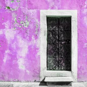¡Viva Mexico! Square Collection - Pink Wall of Silence by Philippe Hugonnard
