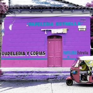¡Viva Mexico! Square Collection - Purple Papeleria by Philippe Hugonnard