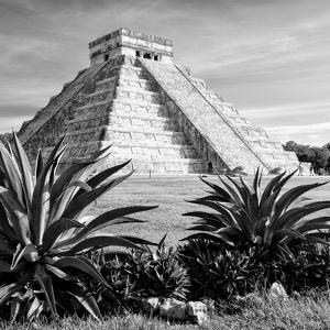 ¡Viva Mexico! Square Collection - Pyramid Chichen Itza VII by Philippe Hugonnard