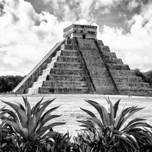 ¡Viva Mexico! Square Collection - Pyramid Chichen Itza X by Philippe Hugonnard