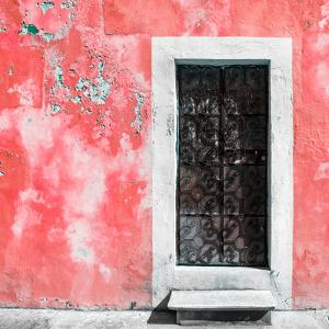 ¡Viva Mexico! Square Collection - Red Wall of Silence by Philippe Hugonnard