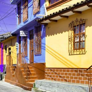 ¡Viva Mexico! Square Collection - San Cristobal Color Houses III by Philippe Hugonnard