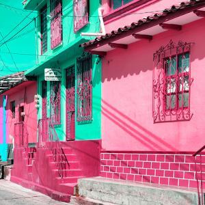 ¡Viva Mexico! Square Collection - San Cristobal Color Houses IV by Philippe Hugonnard