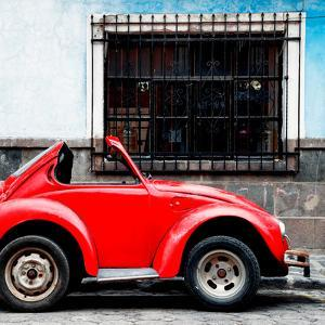 ¡Viva Mexico! Square Collection - Small VW Beetle Car by Philippe Hugonnard
