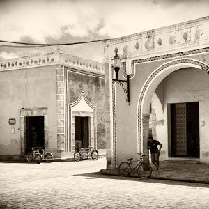 ¡Viva Mexico! Square Collection - The Yellow City VIII - Izamal by Philippe Hugonnard