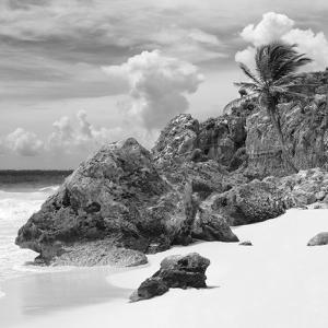 ¡Viva Mexico! Square Collection - Tulum Caribbean Coastline IV by Philippe Hugonnard