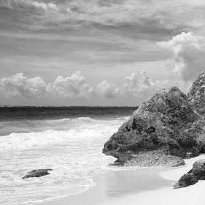 ?Viva Mexico! Square Collection - Tulum Caribbean Coastline VI by Philippe Hugonnard