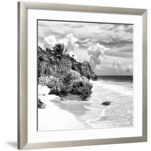 ¡Viva Mexico! Square Collection - Tulum Caribbean Coastline VIII by Philippe Hugonnard