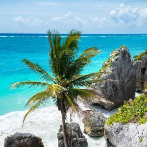 ¡Viva Mexico! Square Collection - Tulum Caribbean Coastline X by Philippe Hugonnard