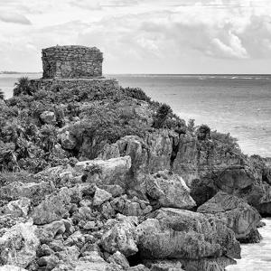 ¡Viva Mexico! Square Collection - Tulum Caribbean Coastline XII by Philippe Hugonnard