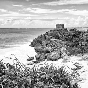 ¡Viva Mexico! Square Collection - Tulum Ruins along Caribbean Coastline IV by Philippe Hugonnard