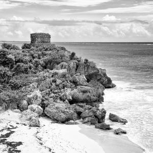 ¡Viva Mexico! Square Collection - Tulum Ruins along Caribbean Coastline VII by Philippe Hugonnard