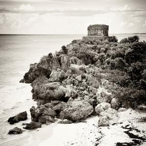 ¡Viva Mexico! Square Collection - Tulum Ruins along Caribbean Coastline X by Philippe Hugonnard