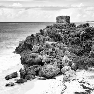 ¡Viva Mexico! Square Collection - Tulum Ruins along Caribbean Coastline XII by Philippe Hugonnard