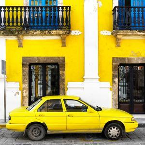 ¡Viva Mexico! Square Collection - Yellow Campeche by Philippe Hugonnard