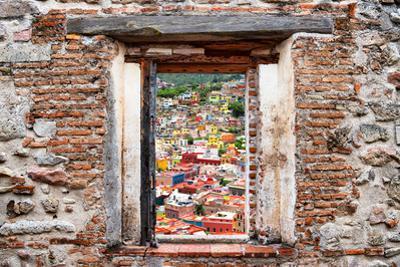 ¡Viva Mexico! Window View - Guanajuato Colorful City