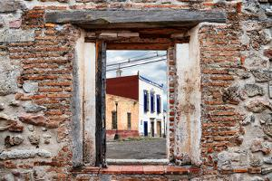 ¡Viva Mexico! Window View - Mexican Street by Philippe Hugonnard