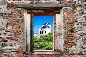 ¡Viva Mexico! Window View - White House in Isla Mujeres by Philippe Hugonnard
