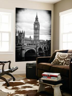 Wall Mural - Big Ben from across the Westminster Bridge - London - UK - England - United Kingdom by Philippe Hugonnard