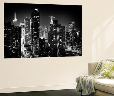 Wall Mural   Manhattan At Night   Times Square And Empire State Building    New York CityPhilippe Hugonnard Part 54
