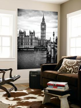 Wall Mural - Palace of Westminster and Big Ben - Westminster Bridge - London - England by Philippe Hugonnard