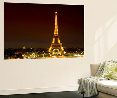 Wall Mural - The Eiffel Tower at Night - Paris - France by Philippe Hugonnard