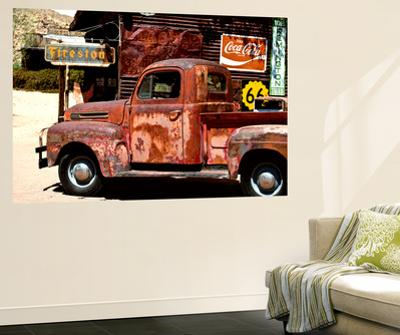 Wall Mural - Truck of Route 66 - Gas Station - Arizona - USA by Philippe Hugonnard