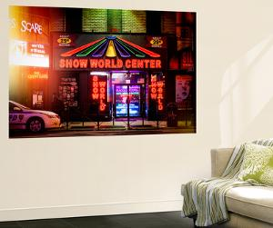 Wall Mural - Urban Night Scene in Times Square at Night - Manhattan - New York by Philippe Hugonnard