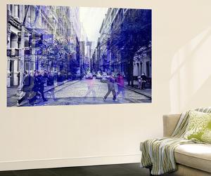 Wall Mural - Urban Vibration Series - Soho and 1WTC - Manhattan - New York - USA by Philippe Hugonnard