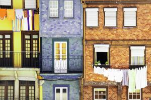 Welcome to Portugal Collection - Beautiful Colorful Traditional Facades II by Philippe Hugonnard