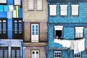 Welcome to Portugal Collection - Beautiful Colorful Traditional Facades V by Philippe Hugonnard
