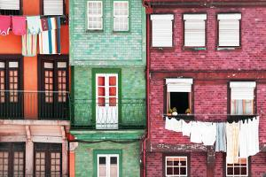 Welcome to Portugal Collection - Beautiful Colorful Traditional Facades VI by Philippe Hugonnard