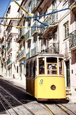 Welcome to Portugal Collection - Bica Elevator Tram in Lisbon II by Philippe Hugonnard