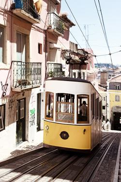 Welcome to Portugal Collection - Bica Tram Lisbon II by Philippe Hugonnard