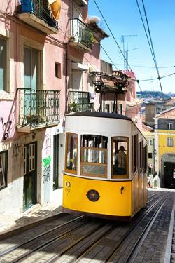 Welcome to Portugal Collection - Bica Tram Lisbon by Philippe Hugonnard