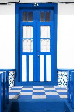 Welcome to Portugal Collection - Blue House Entrance by Philippe Hugonnard