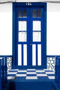Welcome to Portugal Collection - Blue Marine House Entrance by Philippe Hugonnard