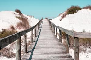 Welcome to Portugal Collection - Boardwalk on the Beach I by Philippe Hugonnard