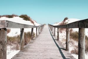 Welcome to Portugal Collection - Boardwalk on the Beach III by Philippe Hugonnard