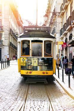 Welcome to Portugal Collection - Carreira 28 Lisbon Tram by Philippe Hugonnard