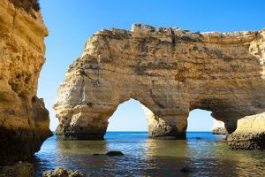 Welcome to Portugal Collection - Cliffs at the beach Praia da Marinha by Philippe Hugonnard