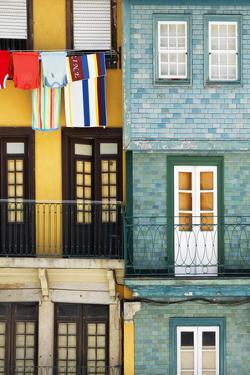 Welcome to Portugal Collection - Colorful Facades in Porto by Philippe Hugonnard