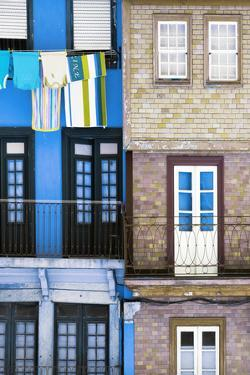 Welcome to Portugal Collection - Colourful Facades in Porto I by Philippe Hugonnard
