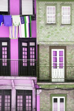 Welcome to Portugal Collection - Colourful Facades in Porto by Philippe Hugonnard