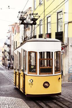 Welcome to Portugal Collection - Elevador da Bica - Lisbon Tram II by Philippe Hugonnard