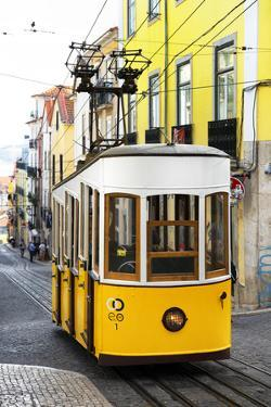 Welcome to Portugal Collection - Elevador da Bica - Lisbon Tram by Philippe Hugonnard