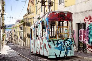 Welcome to Portugal Collection - Graffiti Tram Lisbon II by Philippe Hugonnard