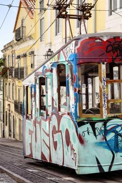 Welcome to Portugal Collection - Graffiti Tramway Lisbon II by Philippe Hugonnard